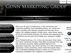 Gunn Marketing Group Website (Hand Coded)