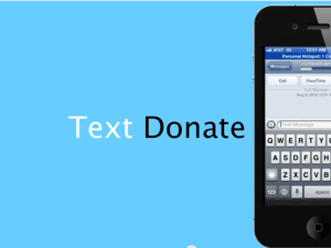 Text-to-Donate Marketing Video