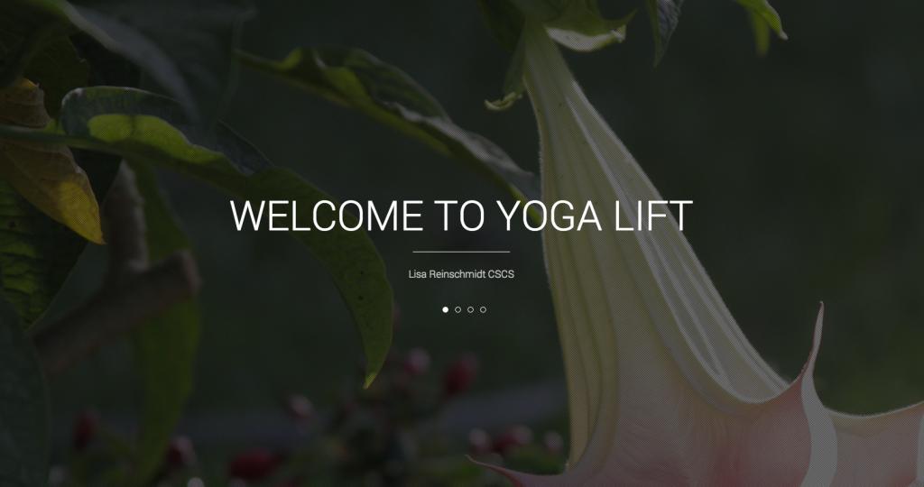 Yoga Lift Home Page